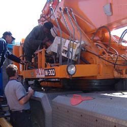 crane overhaul