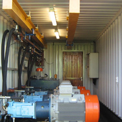 power pack insode container 1