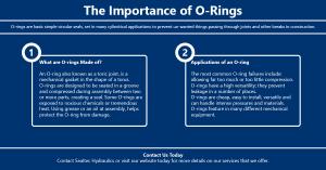 Importance of o-rings   Sealtec Hydraulics   Hydraulic Power Packs   Sealtec Hydraulics